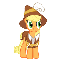 Smart Cookie Applejack by star-burn