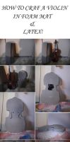 how to craft a Violin by dyzae