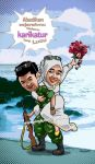 I ll Mary Him (Caricature for Commision) by Angga701