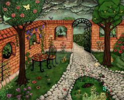 Garden by Fiorina-Artworks