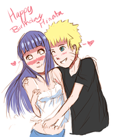 Happy B-Day Hinata by rawdi-kun
