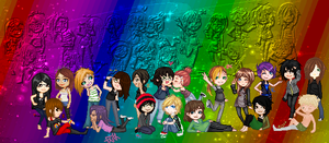 .:COLLAB: DONE:. Unique me! by doris4u