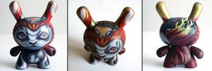 Fire Monkey Dunny by nedashi