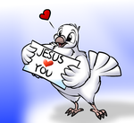 The Dove have message for you by Enricthepenguin92