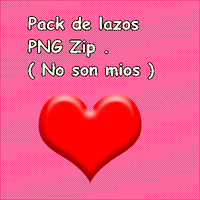 Pack de Lazos PNG Zip by SofiaChicle