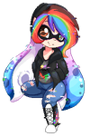 Pixel Rainbow by MrsRemi