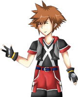 Sora ddd by FallenRichardBrook