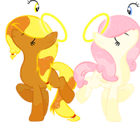 Two angel adopts by Just-call-me-Minty