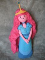 My Needle Felted Princess Bubblegum - Susan Strong by CatsFeltLings