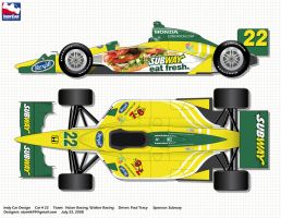 Indy Car Paul Tracy by atomik99