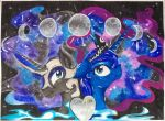 Opposite Sides of the Moon by BlackCatSamurai