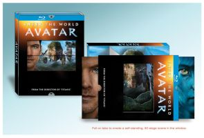 Avatar Blu-ray 3D Stage Slipcover by YodaMaker