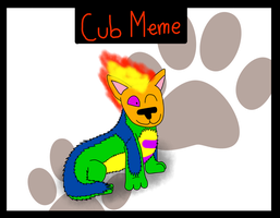 Cub meme - Quilmer by Quilmer
