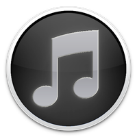 Black iTunes Icon by TheArcSage