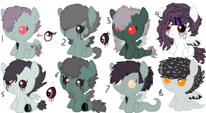 Foals For Fan Girl by TheWingedCow121