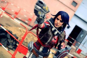 Athena the Gladiator from BorderlandsPreSequel by LiliDin