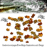 Random Thingy's and Do Dads ~ Leaf Set One PNG by VelmaGiggleWink