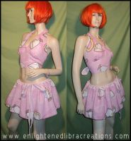 Adorable Tea Cups Skirt and Halter Top by RedheadThePirate