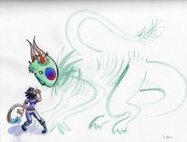 Monster thing by RobotMagpie