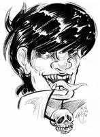Murdoc from Gorillaz by D-MATSUYAMA
