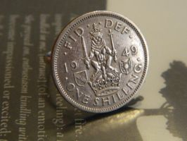 1949 One Shilling Ring by thepapercraftcouple