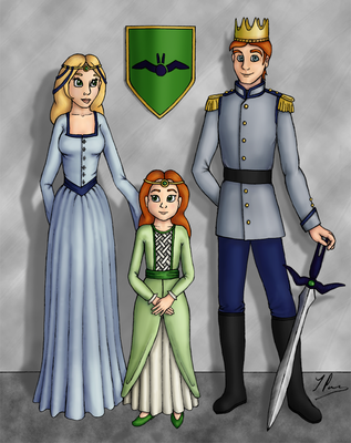 Royal Family Of Terria V2 by AmbrosiaSwallowtail