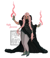 [closed] Adopt - Taffy Sorceress by fionadoesadopts