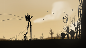 Synthetic-Sniper saw species of Levitating Heavy's by NotisKate
