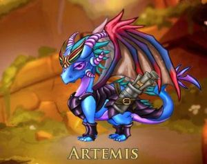 Artimis the Dragoness