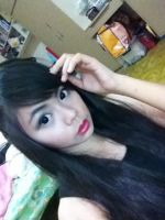 Me in Alodia's make up by Bray24
