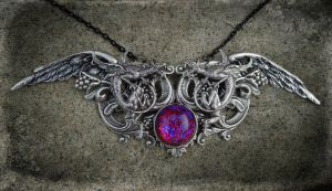 Dragons Blood Pendant by Starl33na