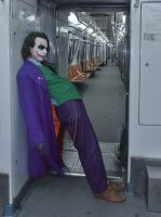 Joker Heath Ledger Cosplay VIII by AlexWorks