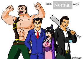 UMVC3: Team NORMAL guys by Brian12
