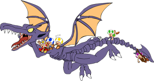 Arcadenik's Request Ridley and the Toad Brigade by AceofAbra