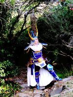 Warrior of Light Dissidia by holybell07