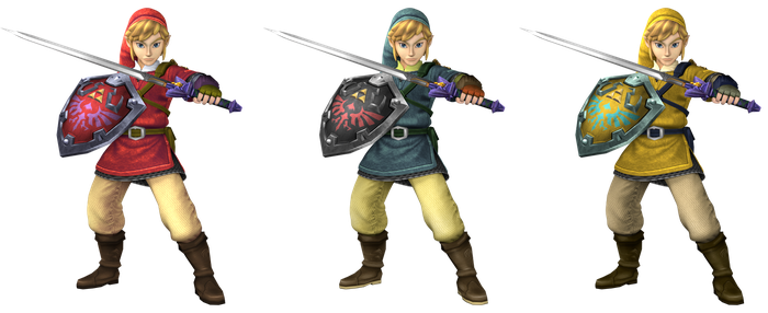 Skyward Link Recolors by Mach-7