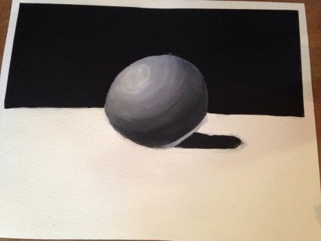 Painting of a Sphere by jenchridu
