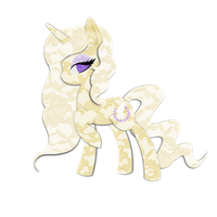 Commission: Ophelia Vio Lacy Pony by steffy-beff