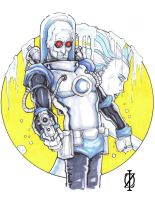 Mr. Freeze by ChrisOzFulton