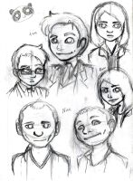 Doctor Who Doodles by MyaTheSquishyOctopus