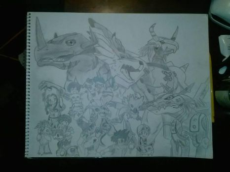 Who doesn't love Digimon??? by LeAniki