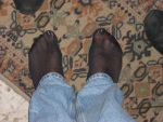 Feet nylon jeans by gigilepri