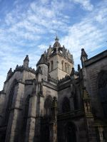 St. Giles's Cathedral by Mikha