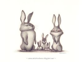 Wabbit family by minitreehouse