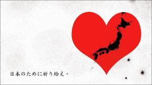 Pray for Japan. by caltiva
