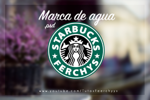 Starbucks Coffe .psd by FeerChyys