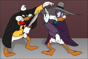 Darkwing+Negs Slash by msfeistus
