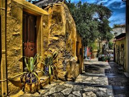 Streets of Athens by shuu2