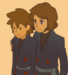 :LAYTON SPOILERS: Targent by hyoutas