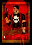Punisher sketch 3-18-14 by e-carpenter